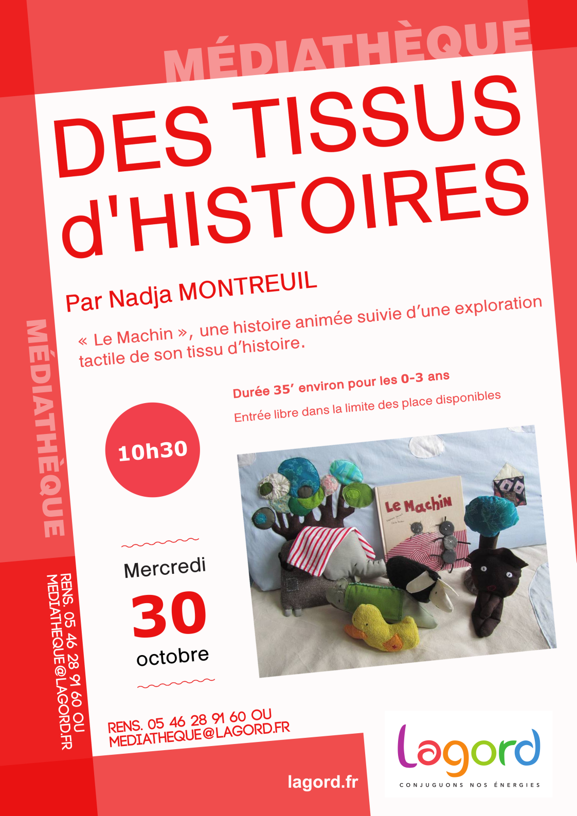 Flyer Nadja 30 oct matin