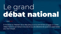 Le Grand Débat National et mise à disposition du cahier de doléances et propositions